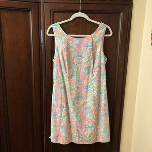 Lilly Pulitzer Dress with bow detail, Size 10!